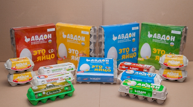 "Упаковки яиц ""Авдон"""