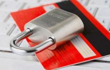 Замок на кредитной карточке