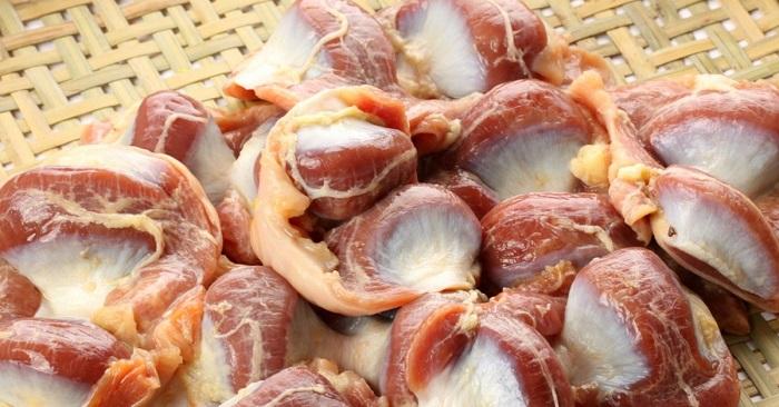 Целые куриные желудочки