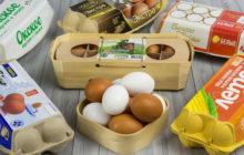 Разные марки яиц