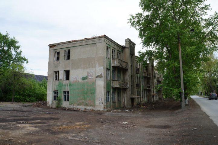Заброшенный дом в Карабаше