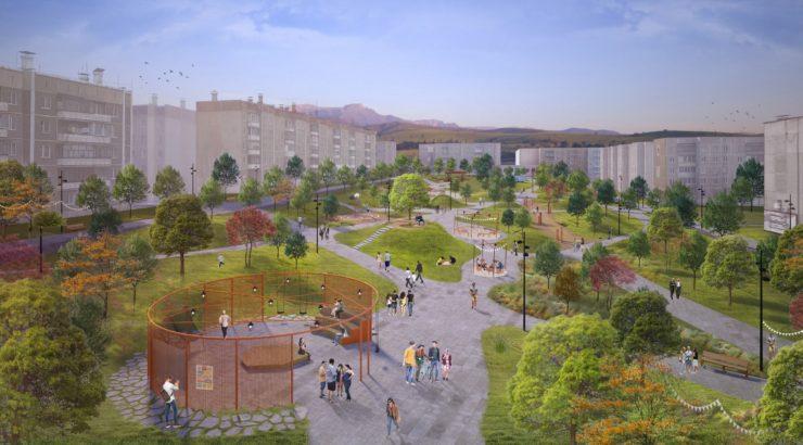 Проект города Карабаш в будущем