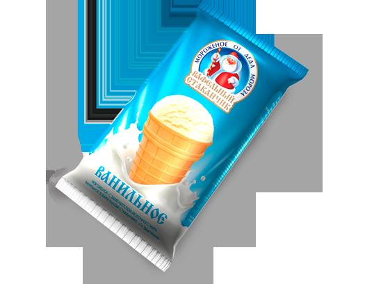 Вологодское мороженое «От Деда Мороза»