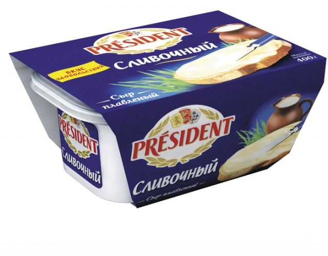 «Президент» сливочный плавленный сыр
