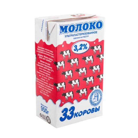 Молоко «Вимм-Билль-Данн» 33 коровы