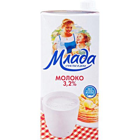 Молоко «Млада»