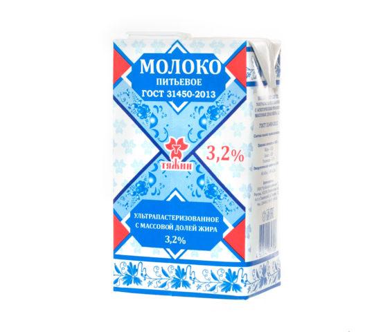 Молоко «Тяжин»