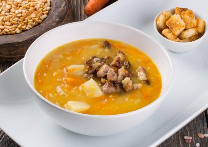 Суп из шашлыка