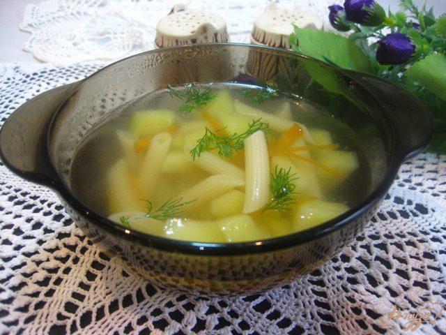 Суп с макаронами