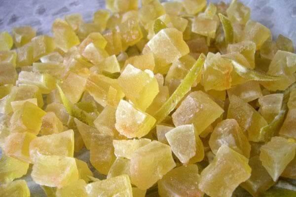 Арбузные цукаты из корок