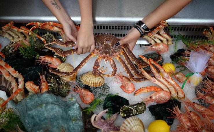 морепродукты Дальнего Востока