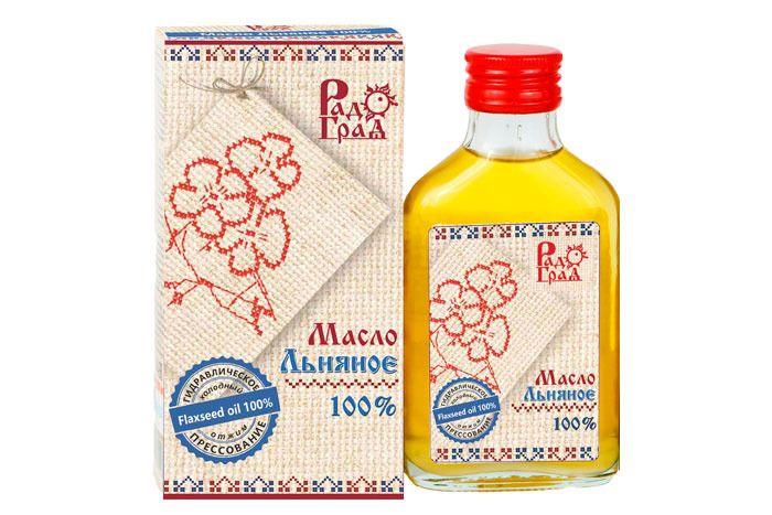 Льняное масло новосибирской компании «Радоград»