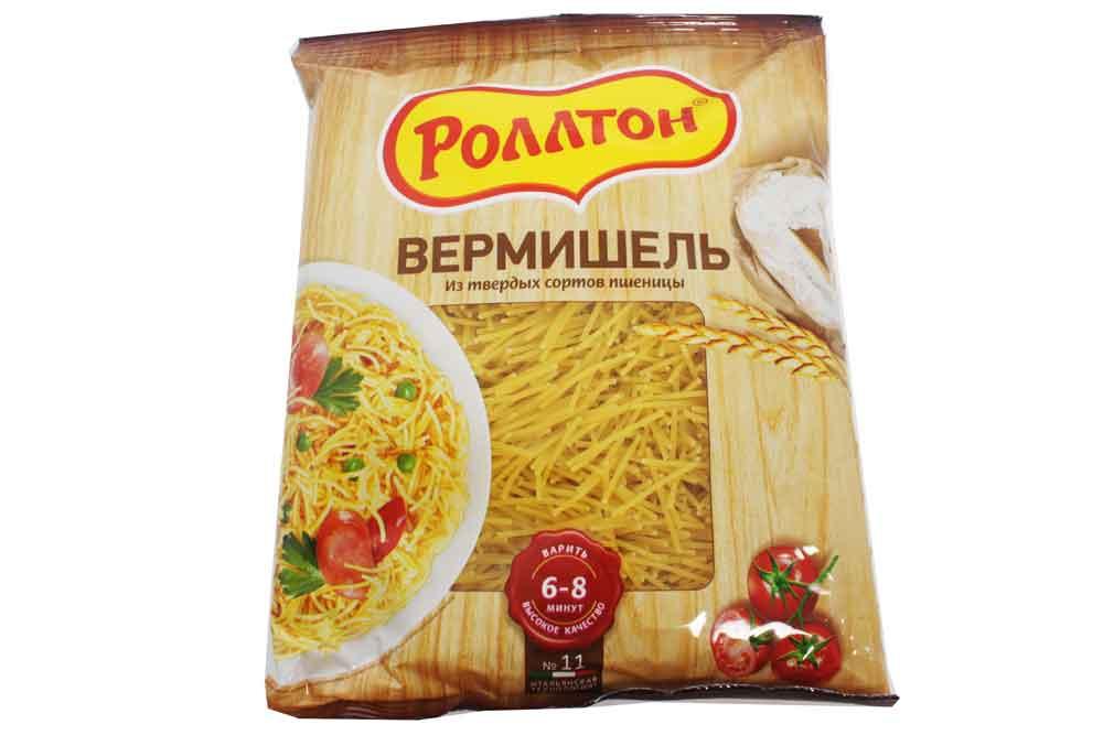 Спагетти «Роллтон»