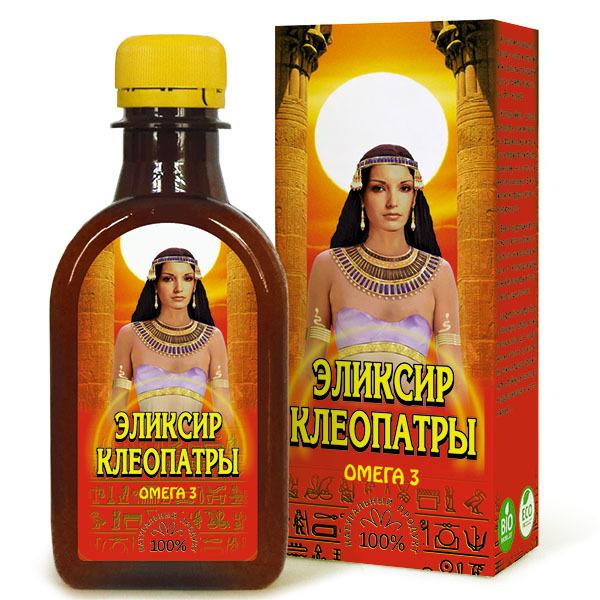 Льняное масло российского производства «Эликсир Клеопатры»