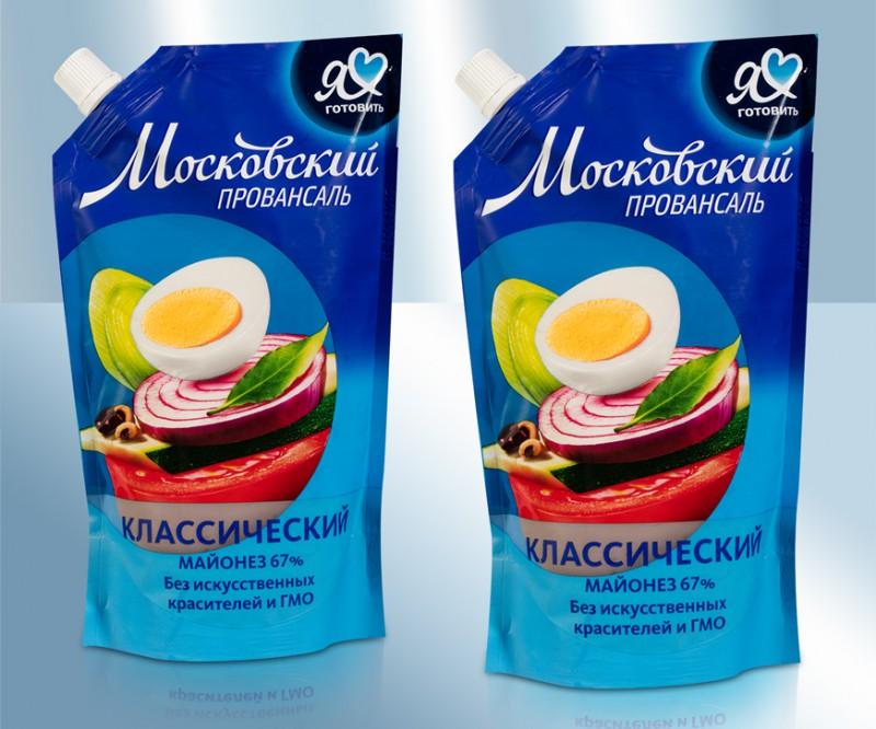 Майонез торговой марки «Московский провансаль»