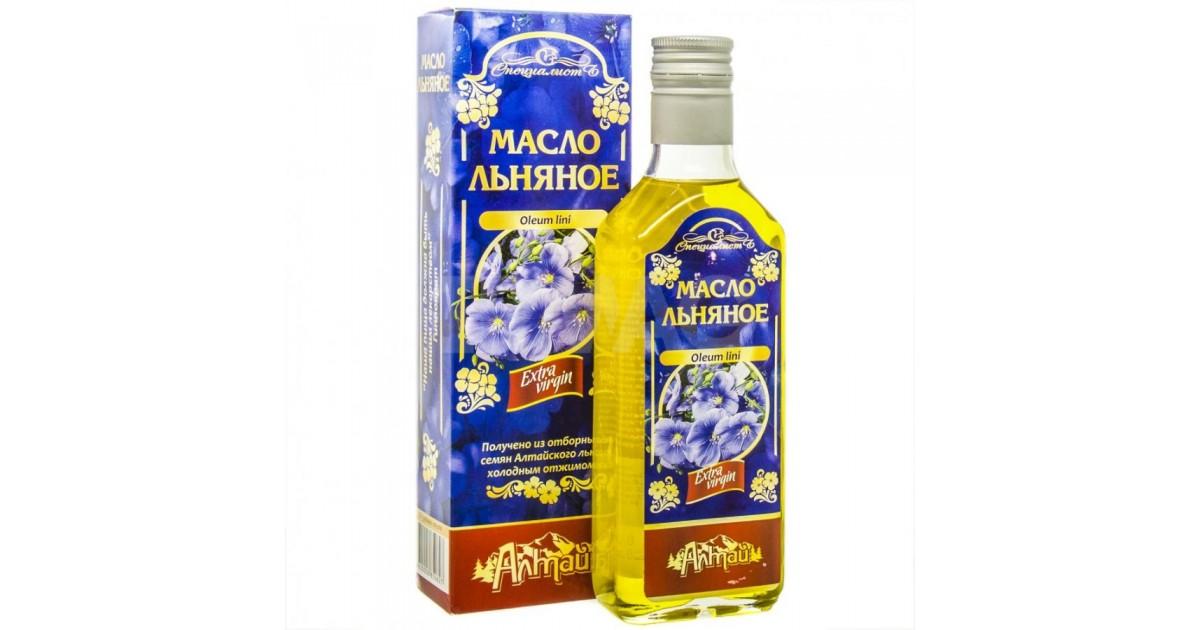Льняное масло от компании «Алтэя»