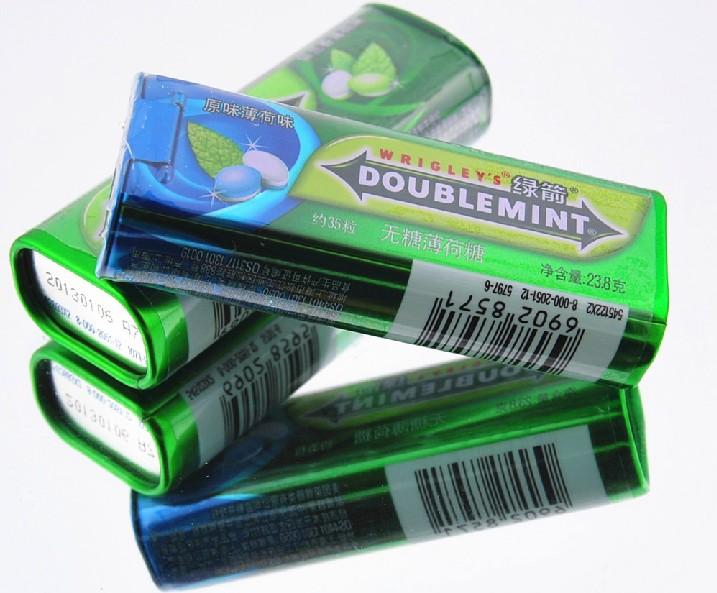 Мятные конфеты торговой марки Wrigley