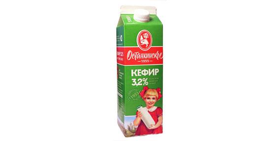 Кефир «Останкинское 1955»