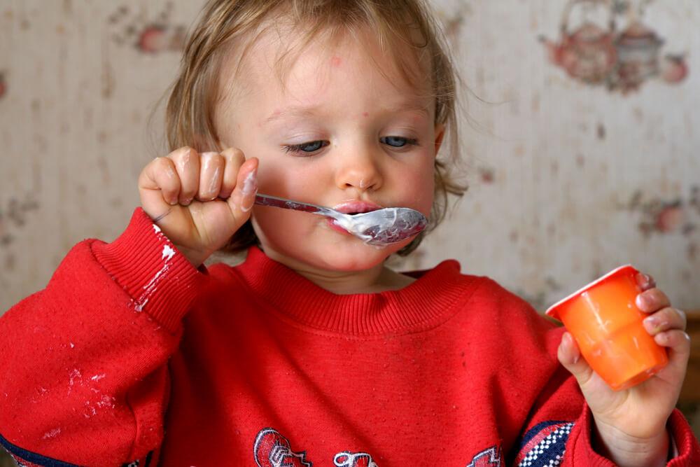 детский йогурт