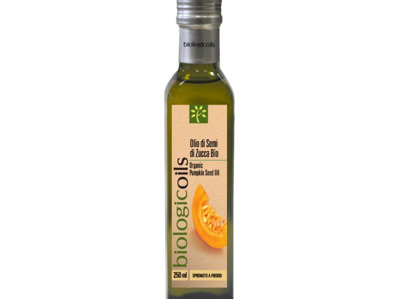 Льняное масло итальянского производства Biologicoils Extra Vergine