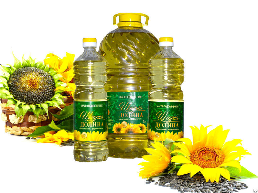 Растительное рафинированное дезодорированное масло