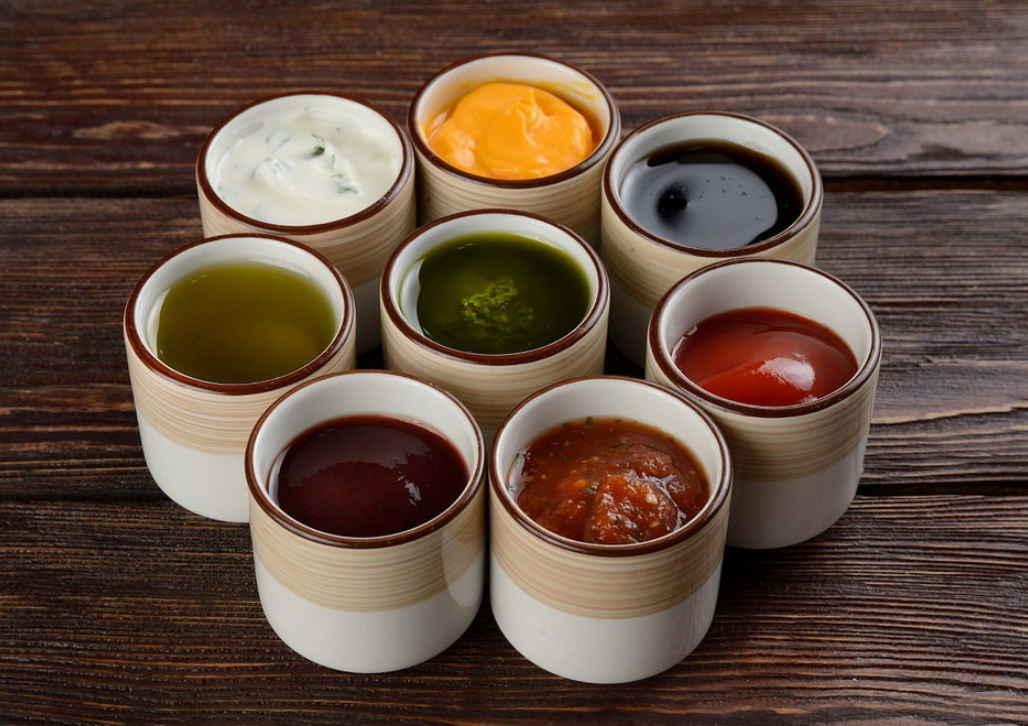 Кетчуп, соусы, заправки
