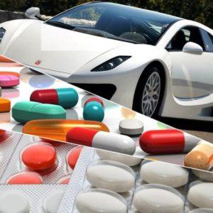 Препараты, не рекомендованные к употреблению водителями