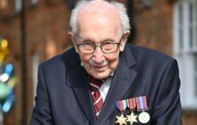 Том Мур, британский ветеран войны