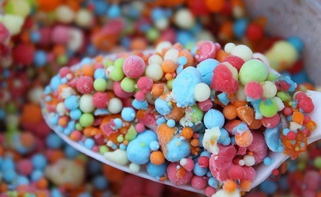 Нано-мороженое в шариках