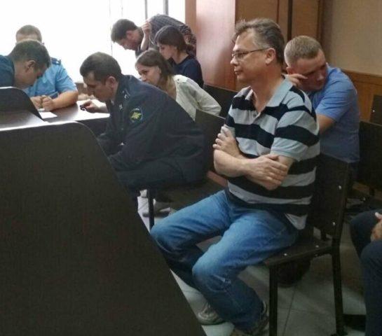 Герман Дьяконов в суде