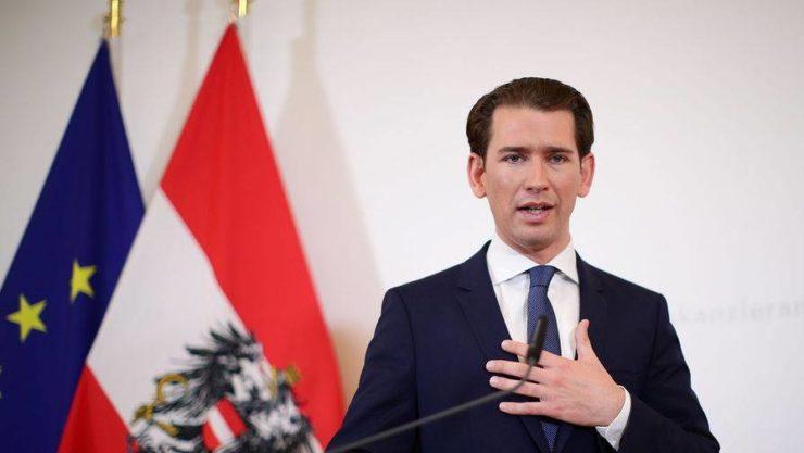 Глава правительства Австрии Себастьян Курц