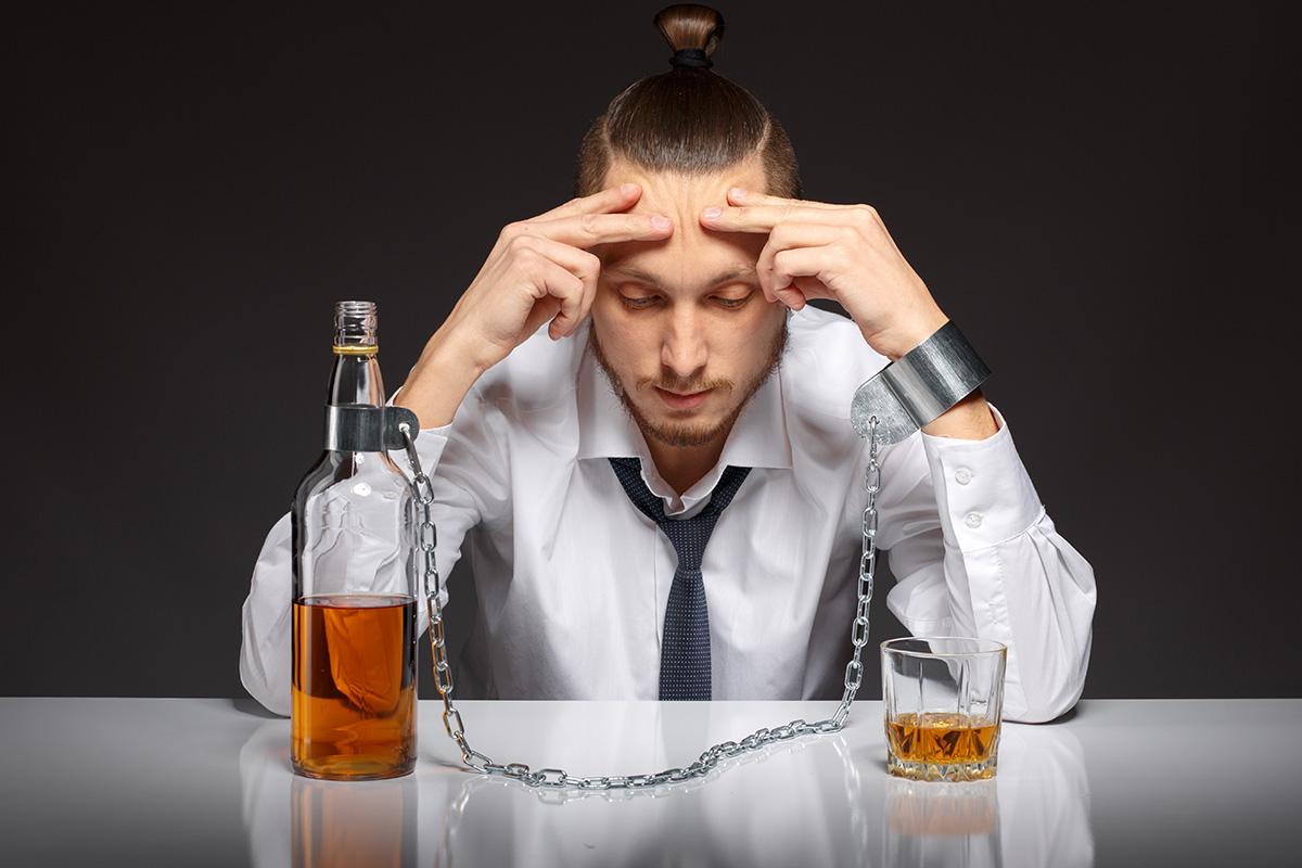 Мужчина и выпивка