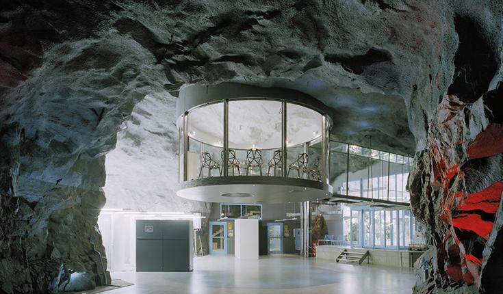Интерьер подземного бункера