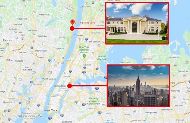 Криншот карты с обозначением недвижимости Малышевой