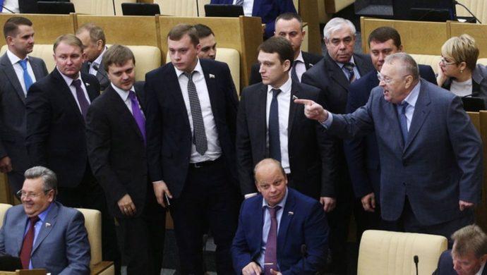 Депутаты в Госдуме