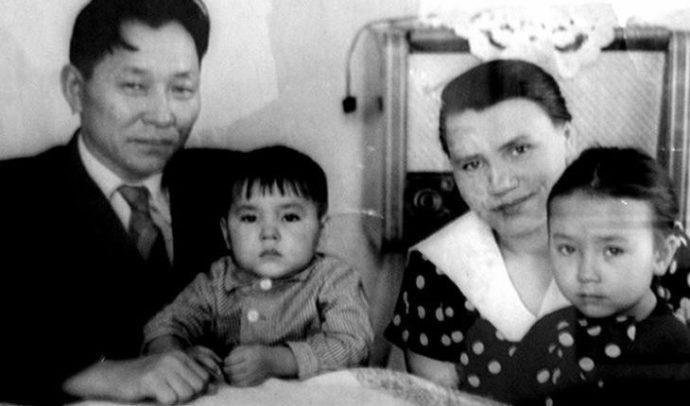 Родители Сергея Шойгу