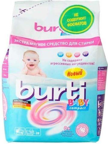 Детский порошок Burti