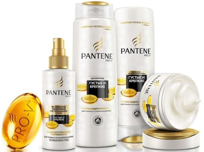 Pantene Pro-V «Густые и крепкие»