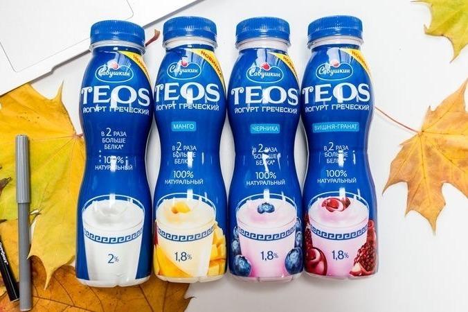 Йогурт Теос греческий