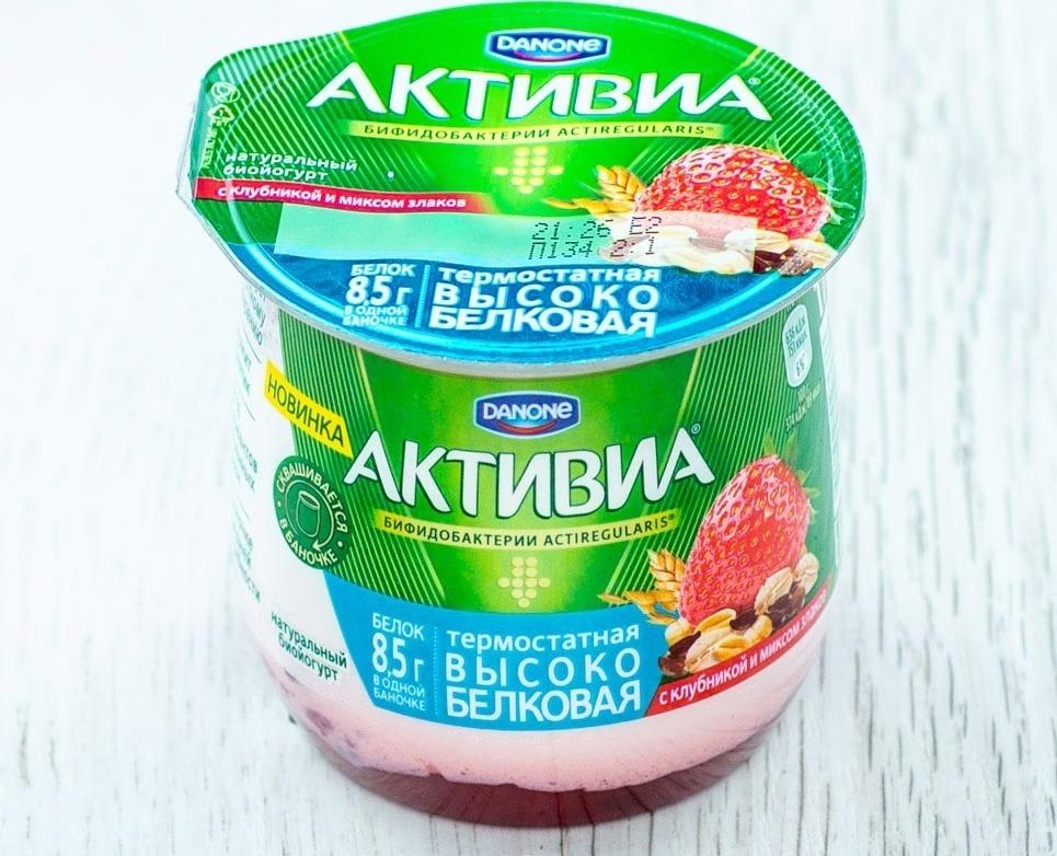 Йогурт Danone «Активиа»