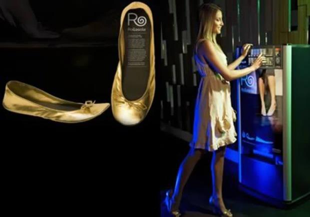 Вендинговый автомат по продаже обуви