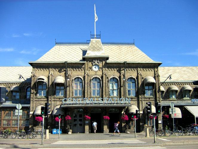 Центральная вокзал Гетеборга, Швеция