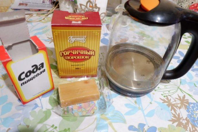 Сода и горчица