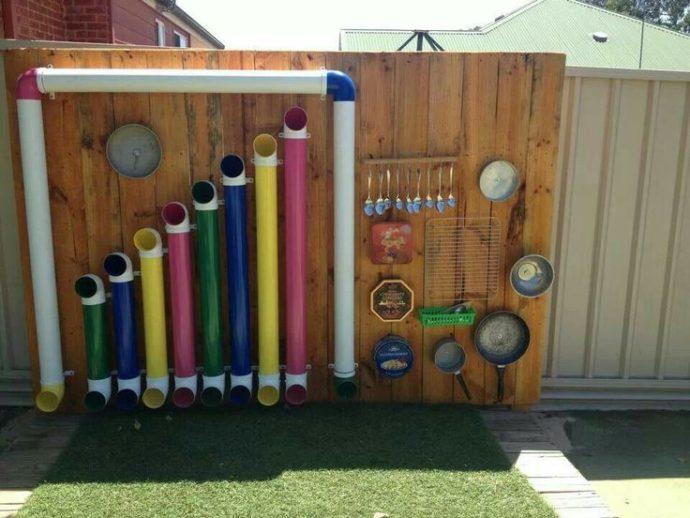 Музыкальная стена для детей