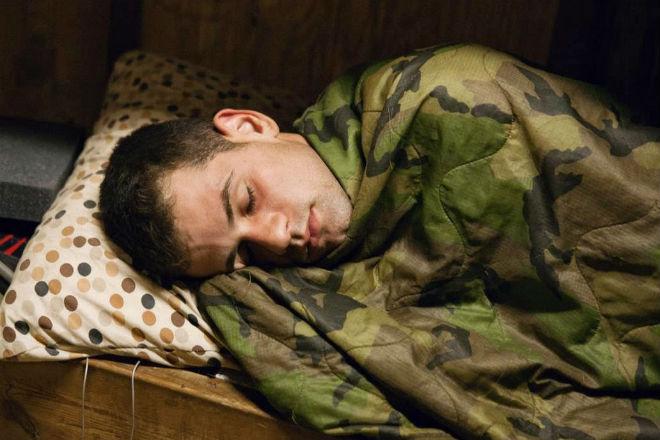 Спящий солдат