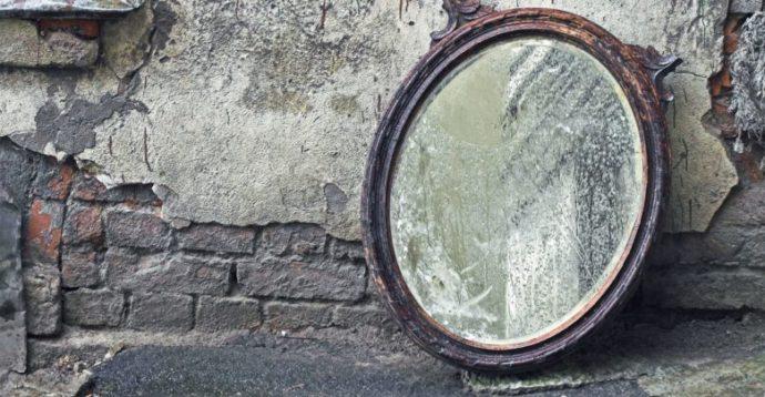 Реставрированное зеркало
