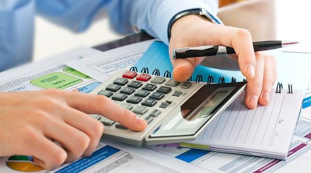 Калькулятор, блокнот и ручка