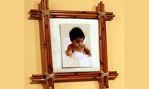 Самодельная рамка для фотографий
