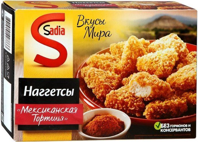 Наггетсы «Sadia»