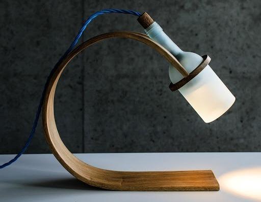 Самодельная настольная лампа